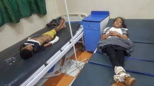 أطفال-أصيبوا-بقصف-للحوثيين-على-المسراخ-تعز-يوم-عيد-الفطر